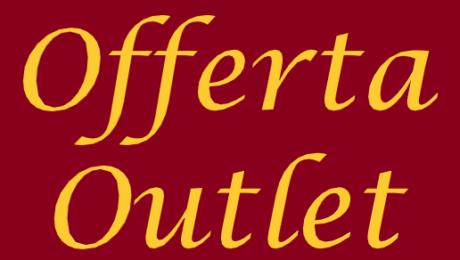 Offerta Outlet per rinnovo esposizione
